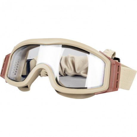 V-Tac Tango-Thermal Airsoft Schutzbrille TAN | Paintball Sports