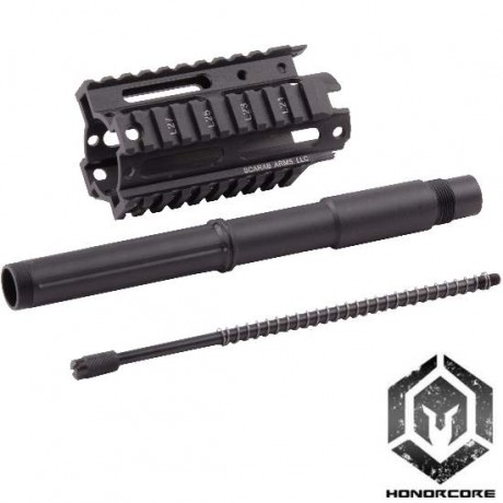 "Maxtact TGR2 CQB Front Shroud Kit 4,5"" Aluminium (schwarz) 