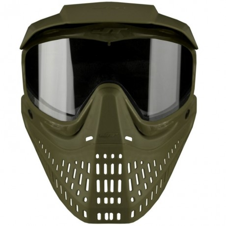 JT Spectra ProShield Paintball Thermal Maske (oliv) | Paintball Sports