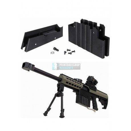 Tippmann A-5 Gas Trough Magazin Kit (M82A1) | Paintball Sports