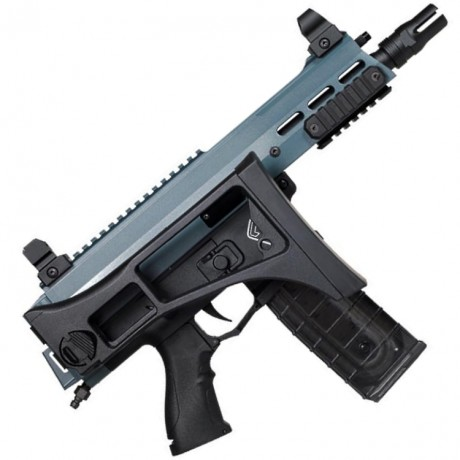 Maxtact TGR X2 COMMANDO G36 Stock Cerakote Edition Paintball Markierer (Jesse James Cold War Grey) | Paintball Sports
