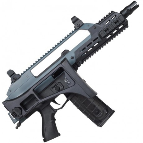 Maxtact TGR G36C Cerakote Folding Stock Edition Paintball Markierer (Jesse James Cold War Grey) | Paintball Sports