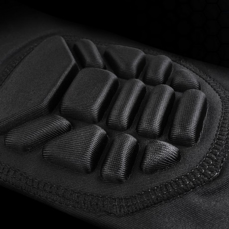 Nano-Series Ultralite Compression Paintball Kneepads / Knieschoner (schwarz) | Paintball Sports