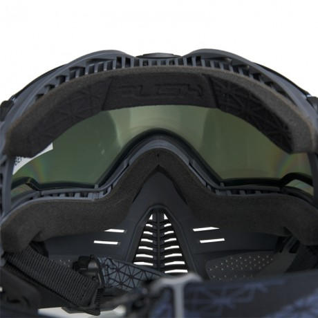 Push Unite Paintball Maske (Planet Eclipse HDE Earth Camo - Clear) | Paintball Sports