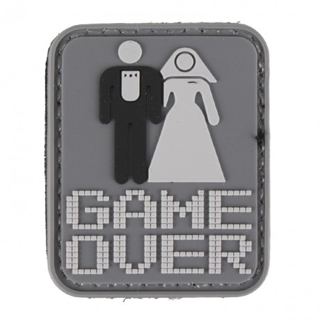Paintball / Airsoft PVC Klettpatch (Game Over) | Paintball Sports