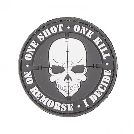 Paintball / Airsoft PVC Klettpatch (One Shot - One Kill) | Paintball Sports