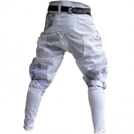 Pbrack Flow Pants Paintball Hose (White / weiss) | Paintball Sports