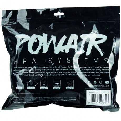 PowAir Shutter Paintball Remote System mit On/Off (schwarz) | Paintball Sports