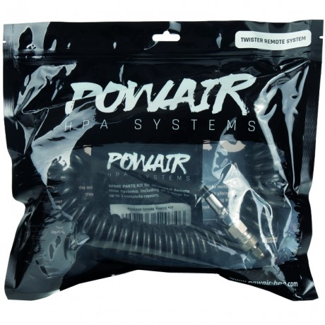 PowAir Twister Paintball Remote System (schwarz) | Paintball Sports