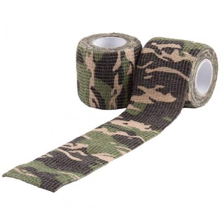 Paintball / Airsoft Camo Tape Tarnklebeband (Woodland) | Paintball Sports