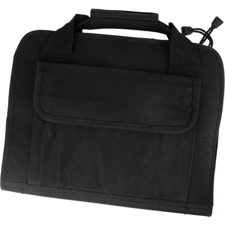 Gun Case / Waffentasche mit Zipper MEDIUM (36x28x5cm) - schwarz | Paintball Sports