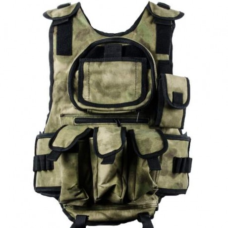 Paintball Tactical Weste 6+1 (Forrest Green Camo) | Paintball Sports