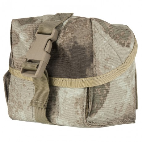 6er Universal Molle Tasche für Granaten (Forest Grey Camo) | Paintball Sports