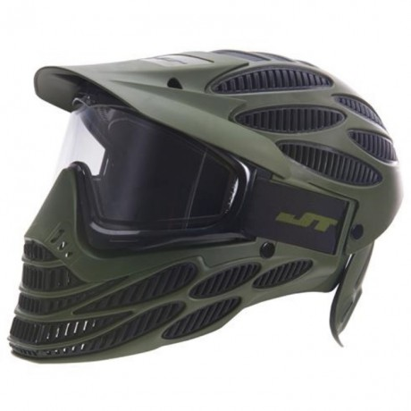 JT Spectra Flex 8 Thermal Maske - Full Cover (oliv) | Paintball Sports
