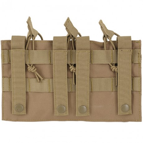G36 Magazintasche für Molle System (3er) - desert / tan | Paintball Sports