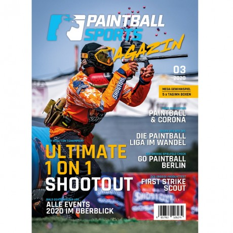 Paintball Sports Magazin - Deine Paintball Zeitschrift (Ausgabe 03/2020) | Paintball Sports