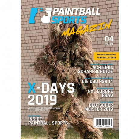 Paintball Sports Magazin - Deine Paintball Zeitschrift (Ausgabe 04/2019) | Paintball Sports