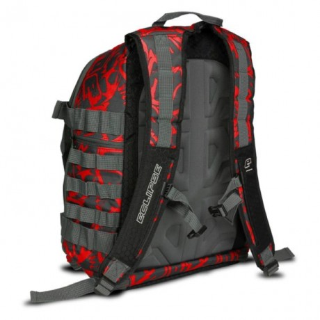 Planet Eclipse GX2 Gravel Bag Molle Paintball Rucksack (Fighter rot) | Paintball Sports