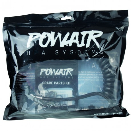 PowAir Comfort Slide Paintball Remote System (schwarz) | Paintball Sports