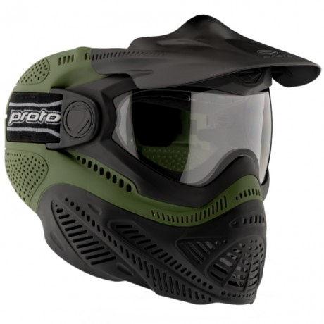 Proto Switch FS Paintball Thermal Maske (Oliv) | Paintball Sports