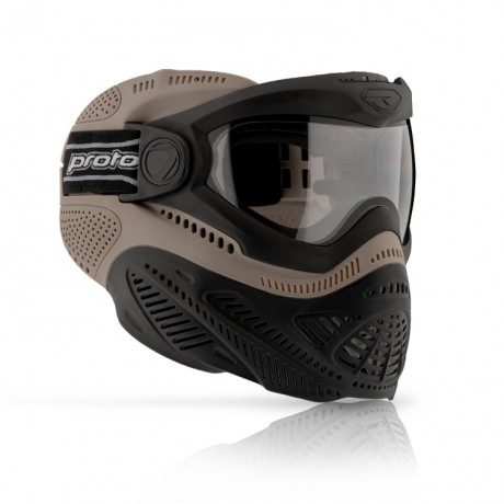 Proto Switch FS Paintball Thermal Maske (Tan)   Paintball Sports