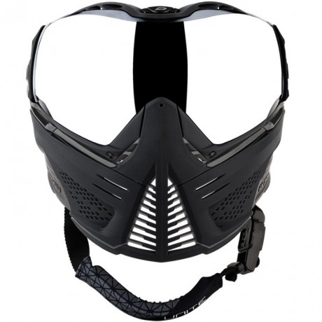 Push Unite Paintball Maske (grau / rot) | Paintball Sports
