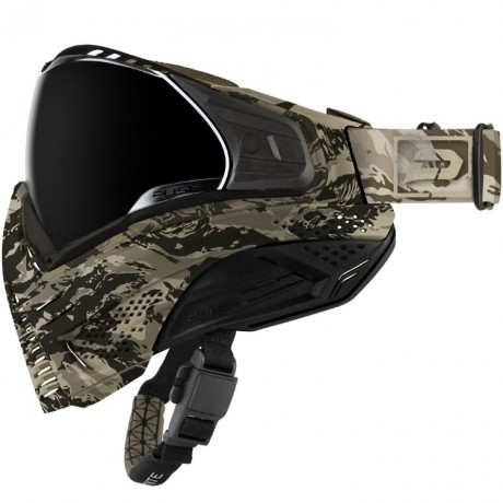 Push Unite Paintball Maske (Desert / Tan Camo) | Paintball Sports