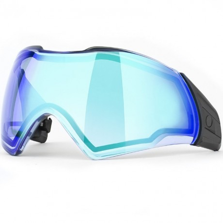 Push Unite Paintball Thermal Maskenglas (Chrome blue) | Paintball Sports