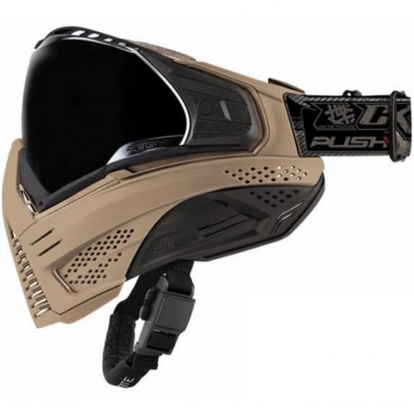Push Unite Paintball Maske (Desert Tan Ltd. Edition) | Paintball Sports
