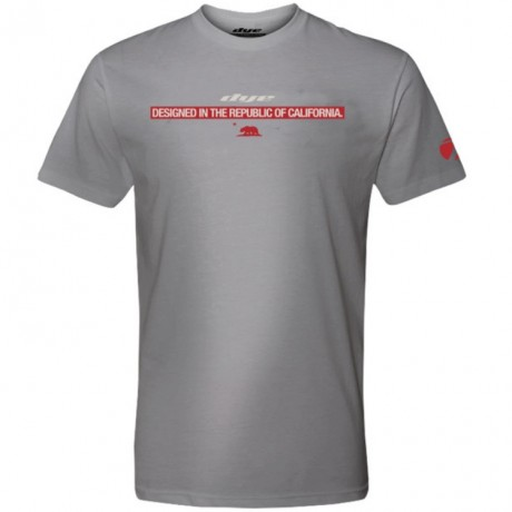 Dye T-Shirt (Dye Republic) Grau | Paintball Sports