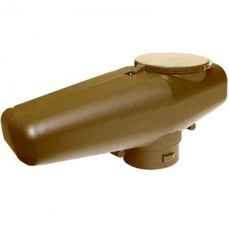 Tippmann A5/X7 Low Profile Offset Cyclone Feed Hopper (Tan) | Paintball Sports