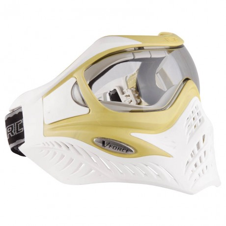 V-Force Grill Paintball Thermalmaske Ltd. Edition weiss/lime | Paintball Sports