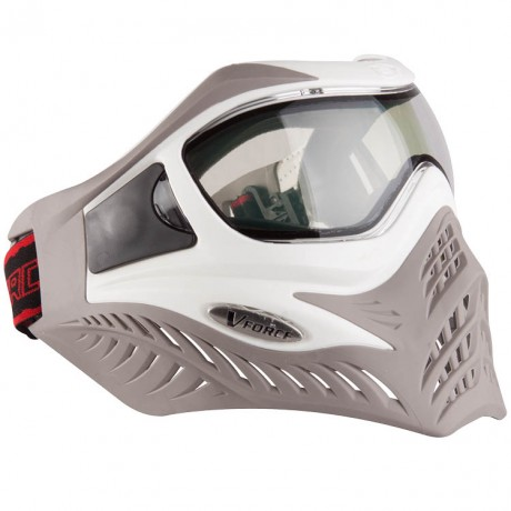 V-Force Grill Paintball Thermalmaske Ltd Edition (white/taupe) | Paintball Sports