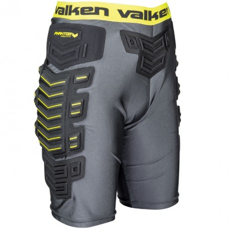 Valken Phantom Agility Paintball Slide Shorts (schwarz) | Paintball Sports