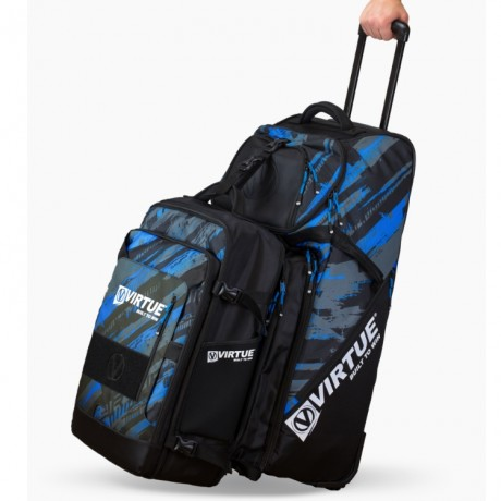 Virtue Gambler Expanding Gear Backpack / Paintball Rucksack (Reality Brush Camo) | Paintball Sports