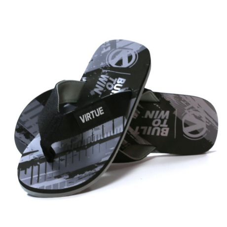Virtue Paintball Onset Flip Flop (graphic black) | Paintball Sports