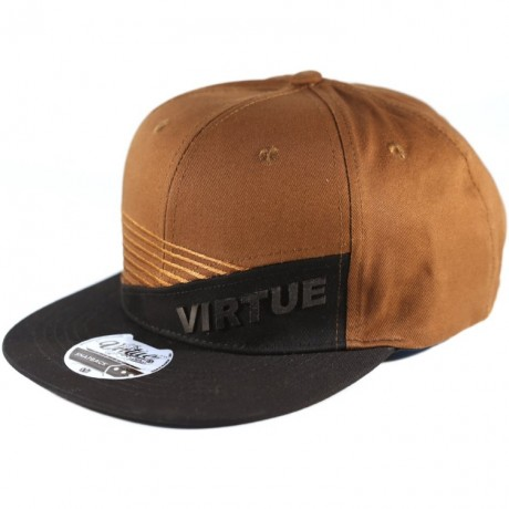 Virtue Paintball Snapback Hat (Brown/Black - Marauder) | Paintball Sports