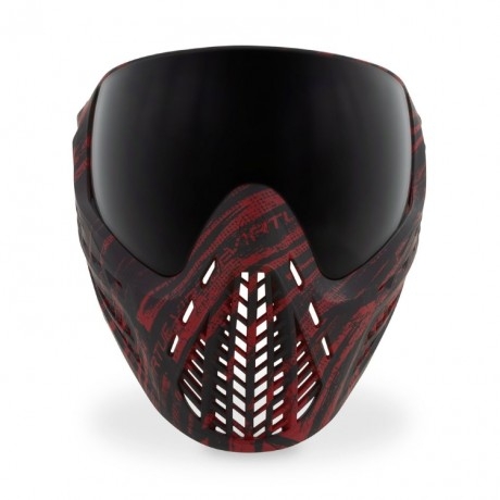 Virtue VIO Ascend Paintball Maske (Graphic Red) | Paintball Sports