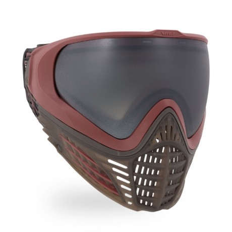 Virtue VIO Contour II Paintball Maske (Dark Slate Rot) | Paintball Sports