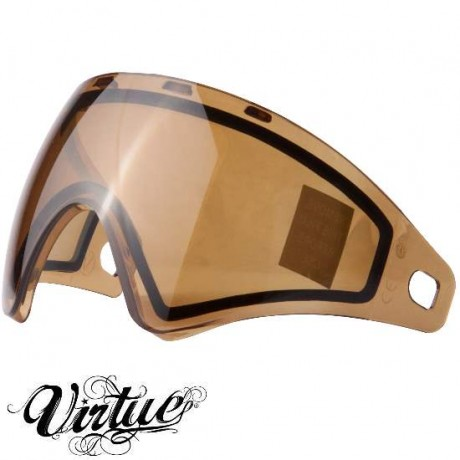 Virtue VIO Paintball Thermal Maskenglas (High Contrast Copper) | Paintball Sports