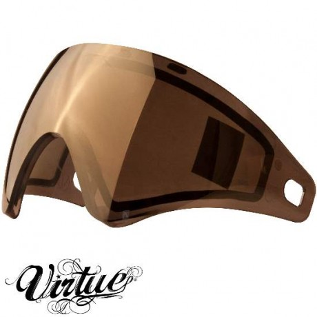 Virtue VIO Paintball Thermal Maskenglas (Chromatic Gold) | Paintball Sports
