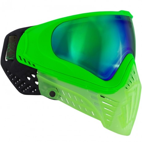 Virtue VIO XS Paintball Maske (Crystal Emerald) | Paintball Sports