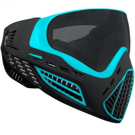 Virtue VIO Ascend Paintball Maske (Aqua / Black) | Paintball Sports