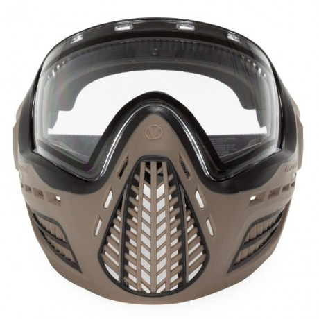 Virtue VIO Ascend Paintball Maske (FDE Clear) | Paintball Sports