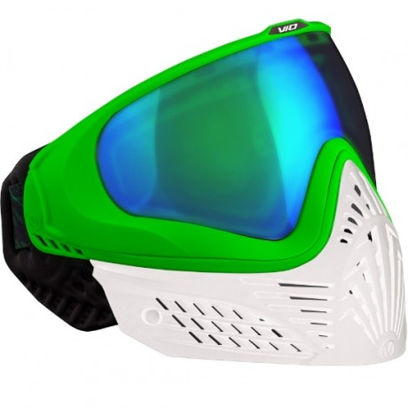 Virtue VIO EXTENDED Paintball Thermal Maske (White Emerald) | Paintball Sports