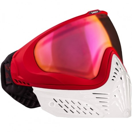 Virtue VIO EXTENDED Paintball Thermal Maske (White Fire) | Paintball Sports