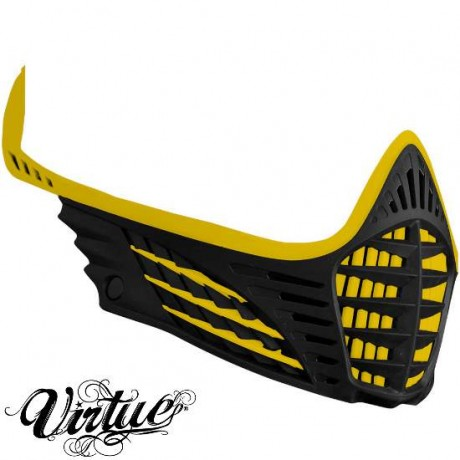 Virtue VIO Facemask / Maskenrahmen (gelb / schwarz) | Paintball Sports