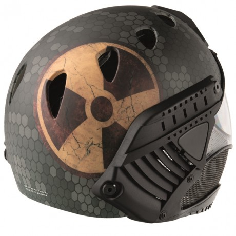 WarQ Fullface Airsoft Schutzhelm (FALLOUT Special Edition) | Paintball Sports