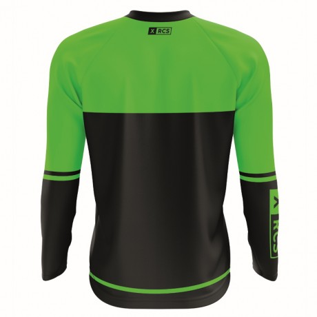 XRCS Paintball Tournament Jersey (schwarz/lime) | Paintball Sports