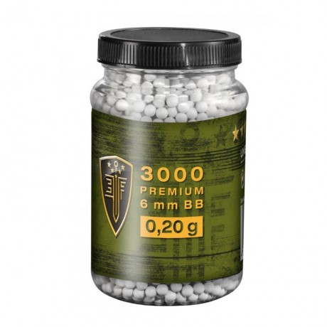 Elite Force Premium Airsoft BB´s im Behälter (3000stk) 0,20g | Paintball Sports
